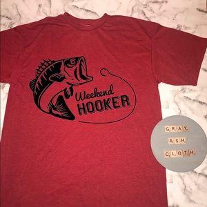 Fishing.  Fisherman. Fish shirt. NEW